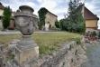 Burgruine Dürnstein: Friedhof.