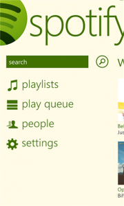 Spotify für Windows Phone 8 (Bild: Windows Phone Store)