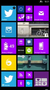 Windows Phone 8 optimiert für Phablets.