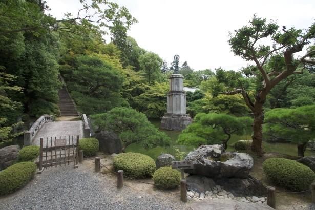 Dort gab es auch zwei Gärten zu besichtigen.