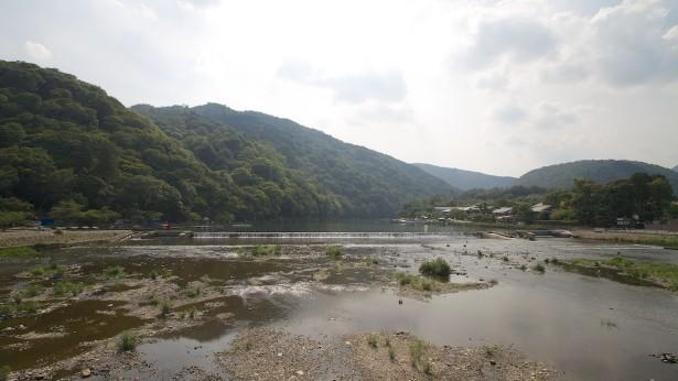 In Arashiyama.