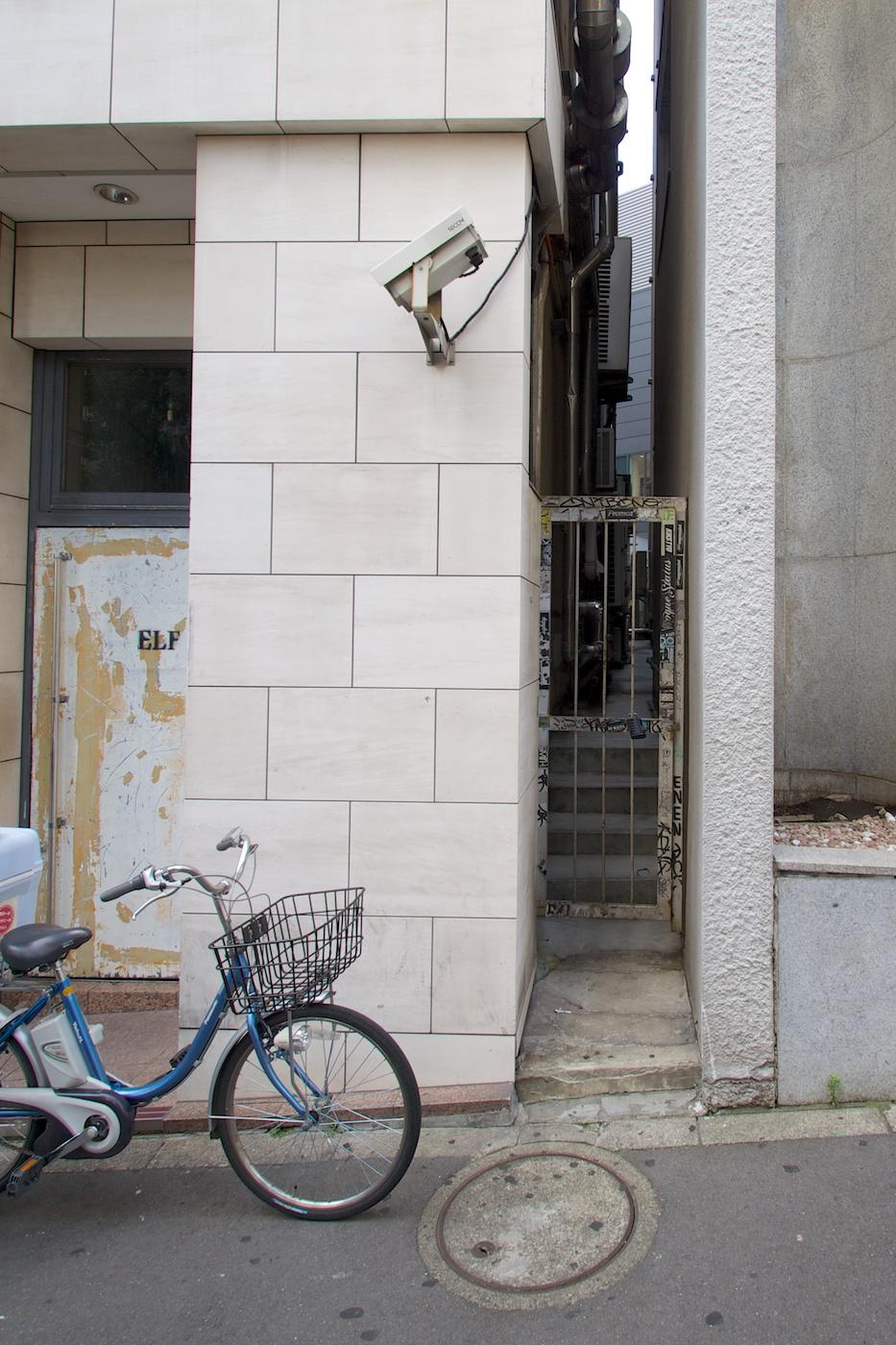 In Tokyo wird auch mit dem Rad gefahren.