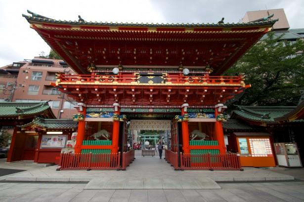 Nächste Station war der Kanda Myojin Schrein.