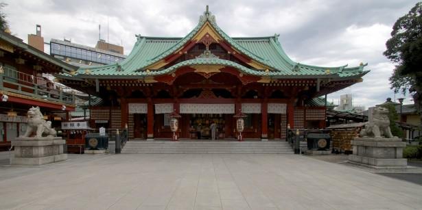 Hier gab es mehr zu sehen als beim Meiji Schrein.