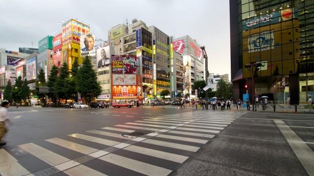 Die letzte Station war das Elektronikviertel Akihabara.
