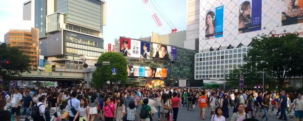 Shibuya again.