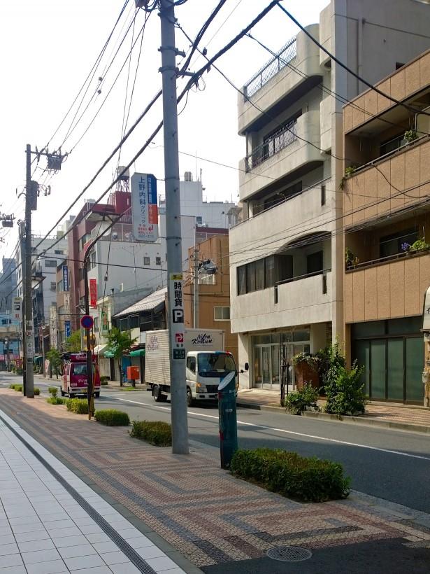 In Tokyo sind die meisten Straßen begrünt. Entweder gibt es Bäume bzw. eingelassene Grünoasen oder vor den Häusern stehen Blumentöpfe. I like!